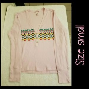 VICTORIA'S SECRET Long Sleeve Small